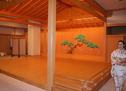 能楽堂の舞台